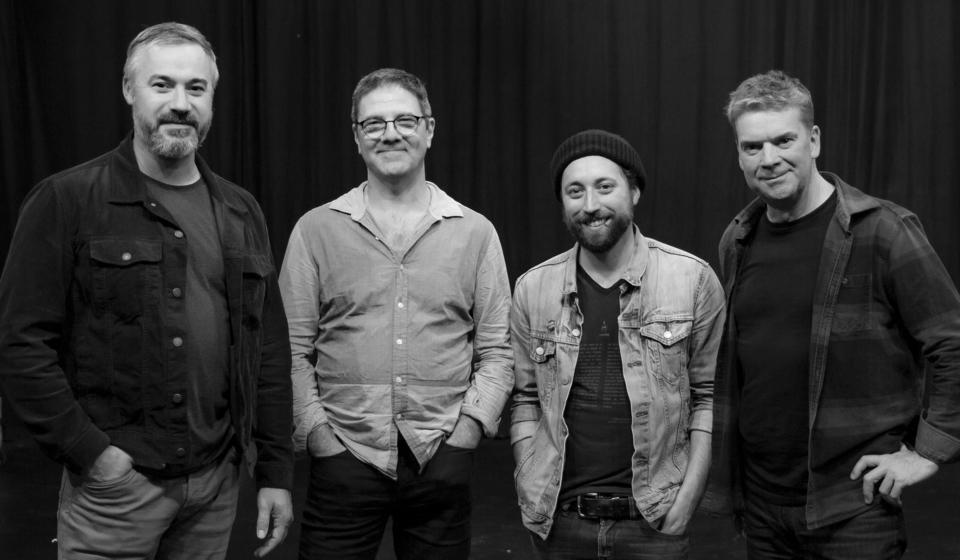 Les concepteurs de Savèches (Pascal Lejeune, Stéphane Ménigot, Jonathan Roy et Allain Roy)